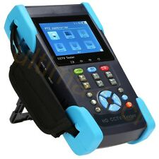 "4-in-1 3.5"" HD CCTV Tester for HD-CVI/HD-TVI/AHD/Analog Camera & PTZ"
