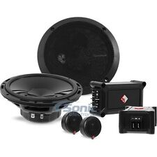 "ROCKFORD FOSGATE 240W 6.5"" Component Car Stereo Speaker System 