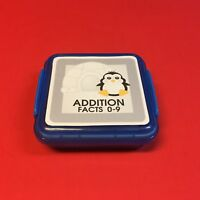 PENGUIN - Addition Facts 0-9 Matching Game 48 Cards with Storage box