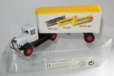 HERMEY GMBH & CO CAMION TRUCK US MACK CHEWING GUM WRIGLEY'S JAUNE 3 INCHES 1/60
