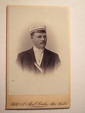 Wingolf Halle a.S.  Otto Lühl - SS 1897 - CDV / Pfarrer - wohnte wohl in Wetzlar