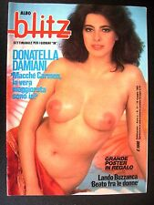 ALBO BLITZ 1984 n° 21 - DONATELLA MILANI SENZA POSTER  INSERTO CATHERINE LAFONT