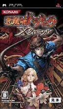 CASTLEVANIA AKUMAJO DRACULA X chronicle PSP JAPAN