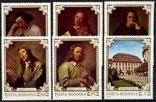 Romania 1970 SG#3779-84 Paintings MNH Set #D59240