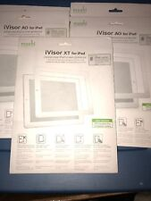 Lot Of 5pc Moshi iPad 2 1 iVisor AG Crystal Clear Sceen Protector XT White
