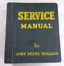 1960`S JOHN DEERE 2000 SERIES SERVICE MANUAL WITH VINTAGE JD BINDER