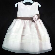 Toddler Easter Dress Dressy Occasion Holiday Wedding Pale Pink Rare Editions 18M