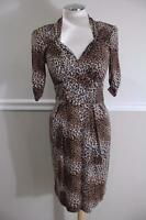 Nanette Lepore Women's Leopard sweet heart neck Dress Size 4 #397-4275 (Dr1000