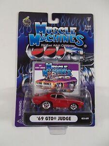 Muscle Machines 1/64 '69 GTO Judge 03-69
