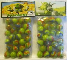 2 Bags Of The Movie Shrek Promo Marbles