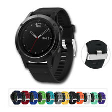 Quick release Silicagel Band Strap Wristband Loop For Garmin Fenix 5 GPS Watch