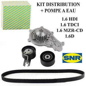 SNR Kit Distribuzione Pompa Acqua Berlingo C2 C3 C30 C4 Picasso C5 1,6 1,6L HDI