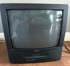"""Daewoo 19"""" CRT TV VCR Combo DVQ-19H1FC (Retro Gaming) Tested Works 100%"""