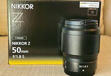 NIKON NIKKOR Z 50mm f/1.8 S Lens for Nikon Z  US  model