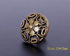 30X 15mm Antique Brass Bohemian Flower Rapid Rivet Leather craft Stud Decorative