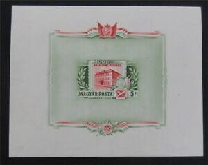 nystamps Hungary Stamp # C166 Mint OG NH $160 Imperf   L23y3298