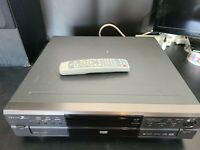 Zenith 5 Disc Changer DVD/CD player, DVC2550 W/REMOTE Tested & Cleaned Working
