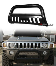 BLK STEEL BULL BAR BRUSH PUSH BUMPER GRILL GRILLE GUARD 2005/2006-2010 HUMMER H3