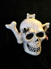 Blue Sky Skull Tea Pot / Kettle Heather Goldmine New condition with tags