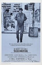 """TAXI DRIVER"" (Martin Scorsese) Robert De Niro - Full size US Movie Film Poster"