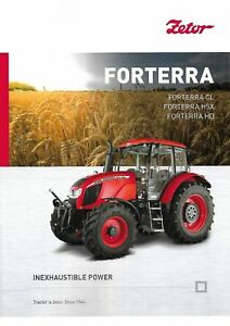 Zetor Forterra Series Tractor brochure 06/2018 June 2018