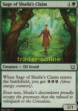 4x Sage of shaila's claim (sabio de shailas area) kaladesh Magic