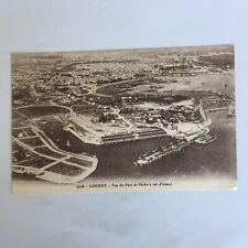 Lorient Vue du Port de Pêche a vol d'oiseau Carte Postale Unposted Postcard