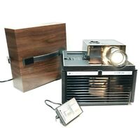 BELL & HOWELL SLIDE CUBE PROJECTOR RC55 857BH  -TESTED-