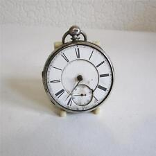 Open Face Pocket Watches with 12-Hour Dial