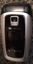 Samsung SCH A870 Black (Verizon) Cellular Phone Fast Shipping Fair to Good Used
