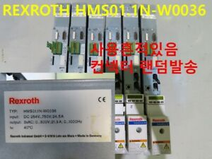 [Used] REXROTH / HMS01.1N-W0036 / DRIVER, 1pcs