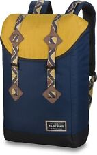 New Mens Dakine Trek Darwin Large Navy Blue Backpack School Bag Laptop Sleeve