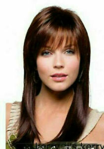 Hot Style Wig New Fashion Gorgeous Women's Medium Natural Brown Straight Wigs