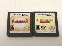 Smart Kid's: Party Fun Pak And Gameclub Nintendo DS Games Only,  lot of 2