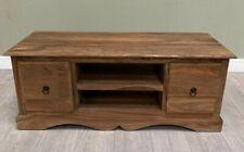 Natural Medium Jali TV Cabinet (SL126)