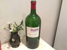 More details for empty montagne saint emilion red wine bottle large 5 litre upcycling crafts