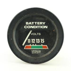 De Tomaso Pantera 1971–1974 Battery Condition Gauge NOS Veglia Borletti