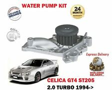 FOR TOYOTA CELICA GT4 ST205 2.0 TURBO 3S-GTE 1994-1999 WATER PUMP KIT