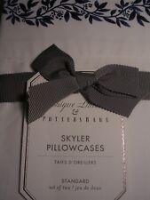 Potterybarn & Monique Lhuillier Skyler Pillowcases Standard Set Of Two New Iop