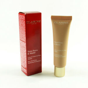 Clarins Pore Perfecting Matifying Foundation #04 Nude Amber - Size 30mL / 1 Oz.