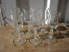 Six Libbey Forum Sherry Glasses