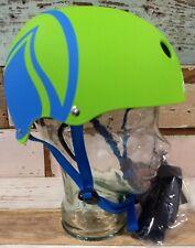 NEW Liquid Force Water Helmet S/M Adult Hero Gr/Blue Sports Wakeboarding Rafting