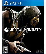 Ps4 Sony PlayStation 4 Game Mortal Kombat X US Boxed