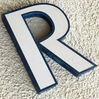 BUCHSTABE R aus Reklame Schriftzug TOP Renate Robert Ramona Rudi Regina Rüdiger