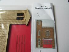 GC Laser HO Scale Firehouse Backdrop  Kit #19024  Bob The Train Guy