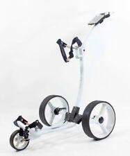 Golftrolley Yorrx® Pro 5 TOPSET, Tasche, Trinkflaschenhalter, Golfbälle...*weiß*