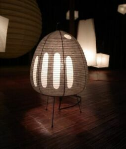 Isamu Noguchi AKARI 1AG Stand Light Lamp Shade Metal Frame Legs Whole Set Japan
