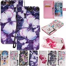 For iPhone XS Max XR 6S 7 8 Plus Wallet Leather Case Flip Stand Phone Case Cover