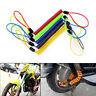 Cuerda Antirrobo Moto Bicicleta Scooter Equipaje Alarma Bloqueo Cable SeguridQA