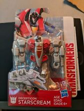 "(3D2)  Hasbro Transformers Authentics Decepticon STARSCREAM 4.5"" Action Figure"